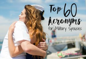 Military Spouse Acronyms Wife