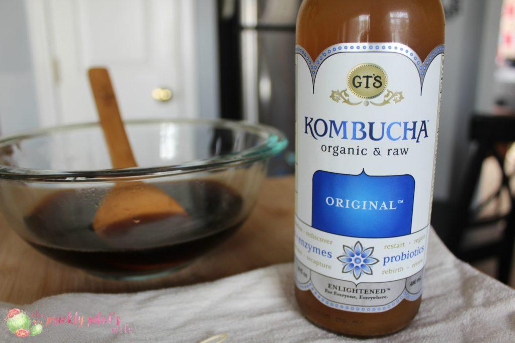make your own SCOBY Kombucha