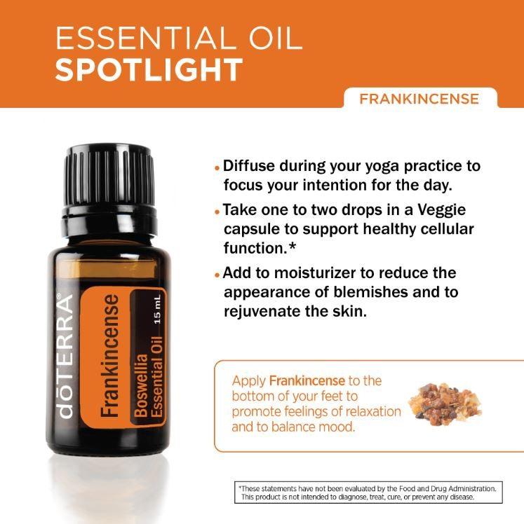 doterra frankincense uses