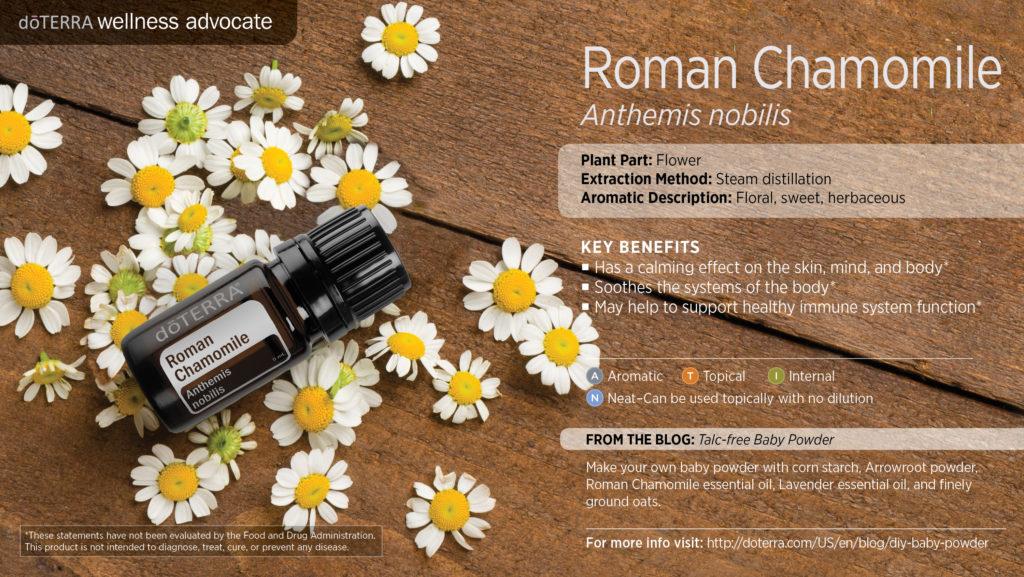 doterra roman chamomile uses