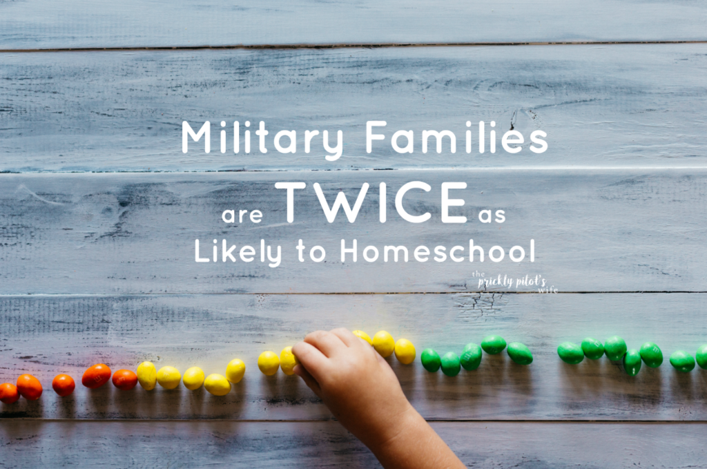 military families are twice as likely to homeschool